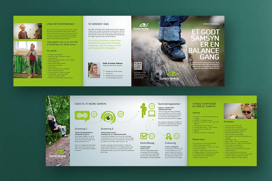Brochure til behandler