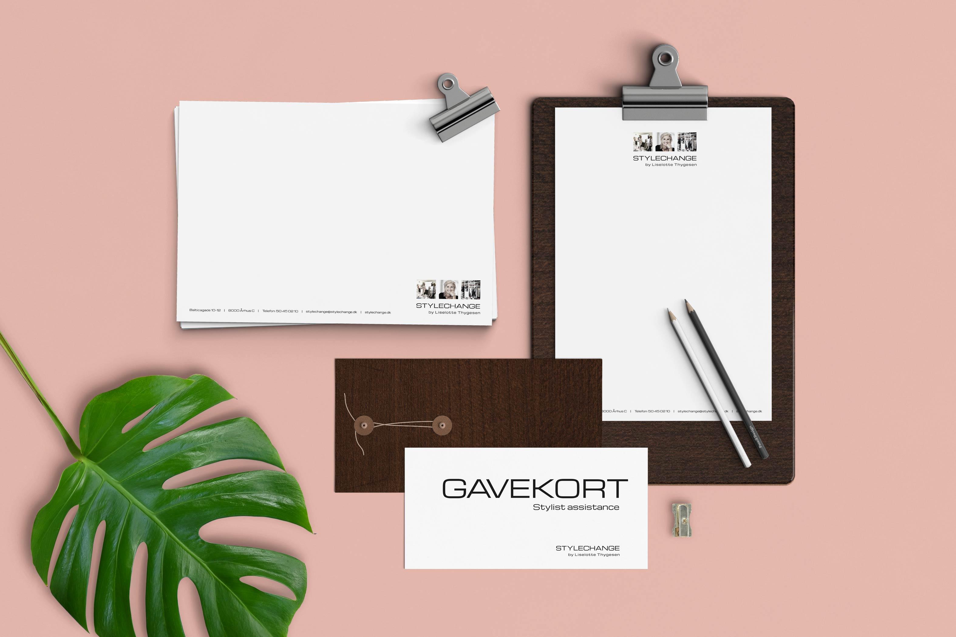 Stylechange brevpapir