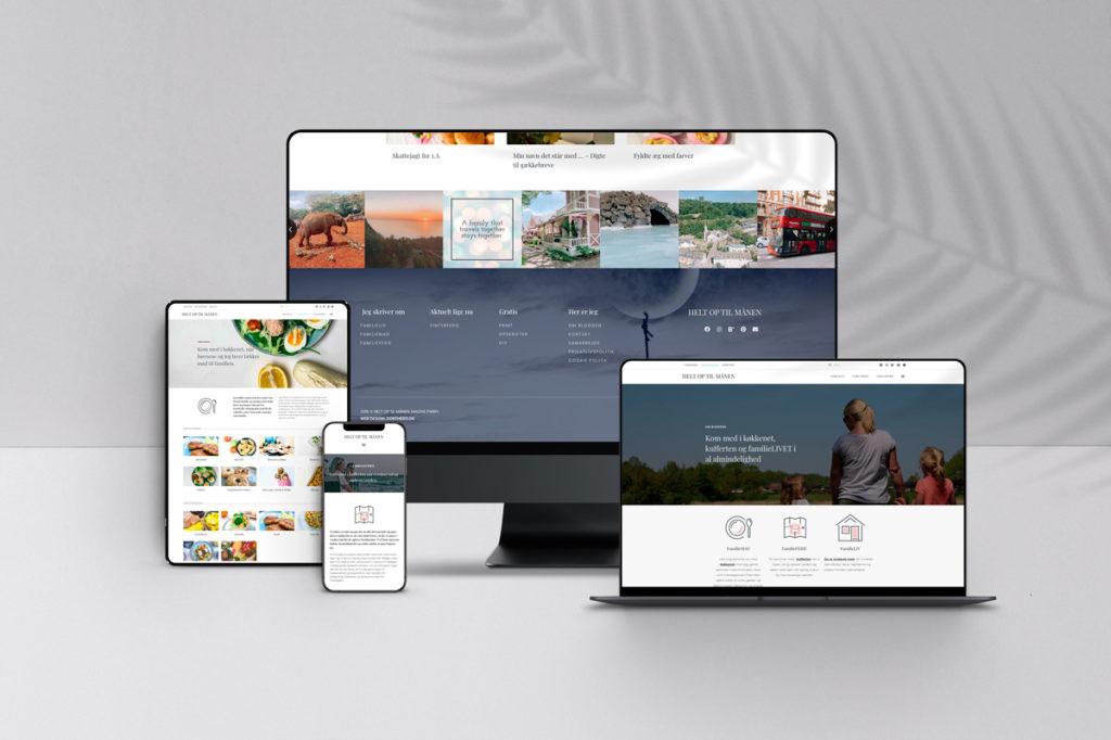 blogger-hjemmeside-design