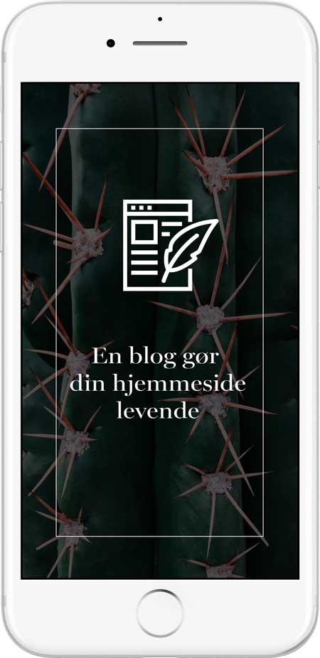 flot-blog-hjemmeside